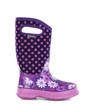 Kid's Flower Dot Kids' Insulated Boots