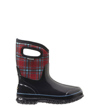 Women's Winter Plaid Mid Women's Insulated Boot