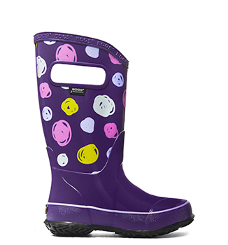 Kid's Rainboot Sketch
